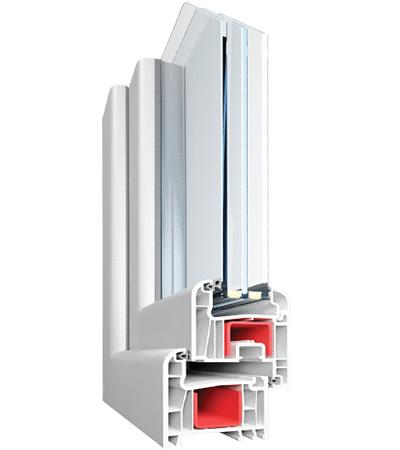 Аналоговый подставочный профиль из пвх подходящий под оконные системы rehau, montblanc, plafen
